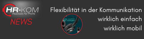 Flexibilität in der Kommunikation dank EPOS DECT Dongle wirklich-einfach-mobil - DECT Headset + DECT Dongle = Hybrides Arbeiten