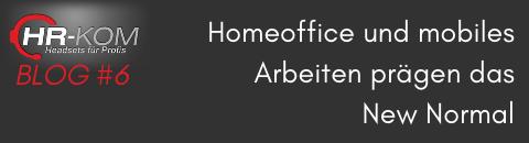 Homeoffice und mobiles Arbeiten prägen das New Normal - Homeoffice und mobiles Arbeiten prägen das New Normal