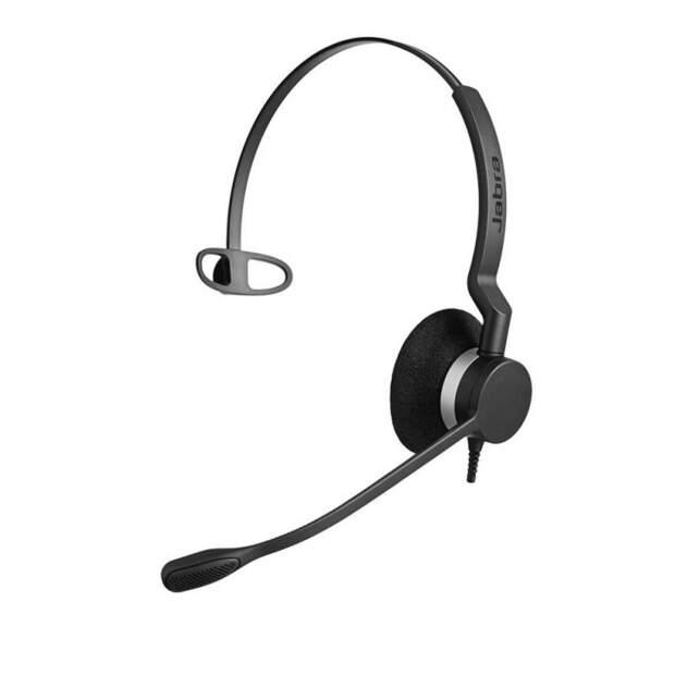 Jabra Biz 2300 QD Mono Headset mit Schnelltrennkupplung - Noise Cancelling