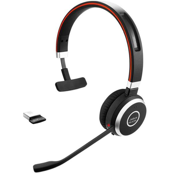 Evolve 65 MS Mono USB NC Bluetooth, Lync optimiert. inkl. Link 370