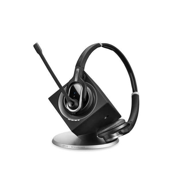 EPOS SENNHEISER IMPACT DW 30 USB ML EU (DW Pro 2) Stereo DECT USB Headset für PC inkl. Basis Ultra Noice Cancelling