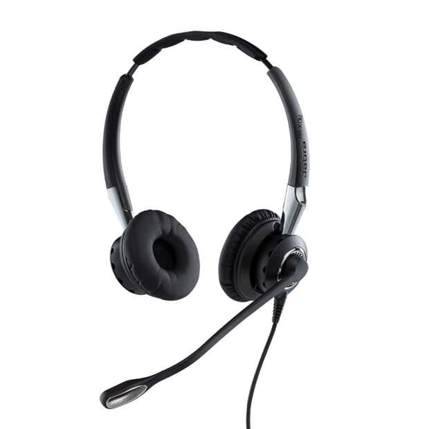JABRA BIZ 2400 II Duo Typ 82 Noise Cancelling mit Überkopfbügel