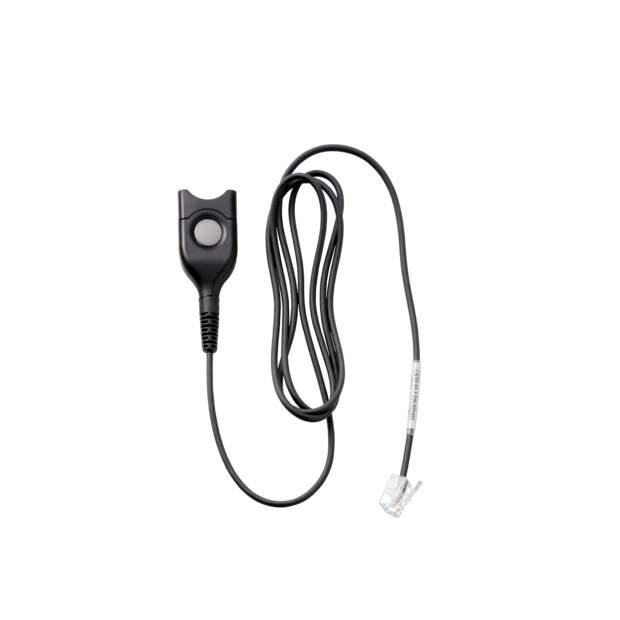 EPOS  CSTD 01-1 Standard Headset-Anschlusskabel 100cm EasyDisconnect auf Modularstecker RJ9 - gerades Kabel - Code 01