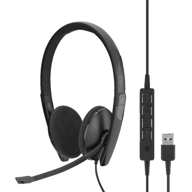 EPOS  ADAPT SC 160 USB binaurales USB-Headset In-Line...