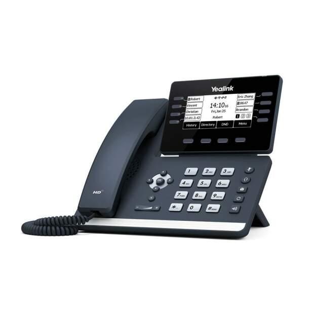 YEALINK SIP-T53W SIP-Telefon PoE ohne Netzteil