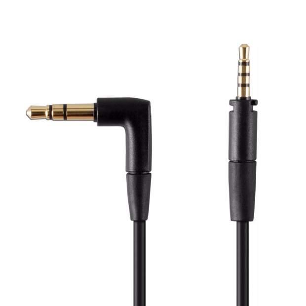 EPOS  ADAPT 660 Audiokabel mit Taste für Rufannahme/-ende 2,5mm und 3,5mm Klinkenstecker