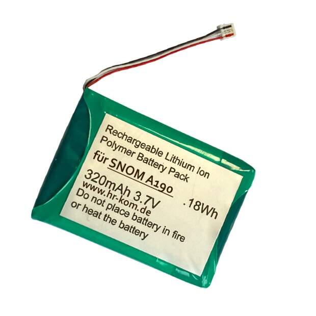 Akku für Snom A190 Multizellen DECT Headset