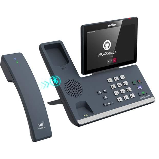 Yealink MP58-WH Teams Edition IP Telefon VoIP Bluetooth kabelloser Hörer