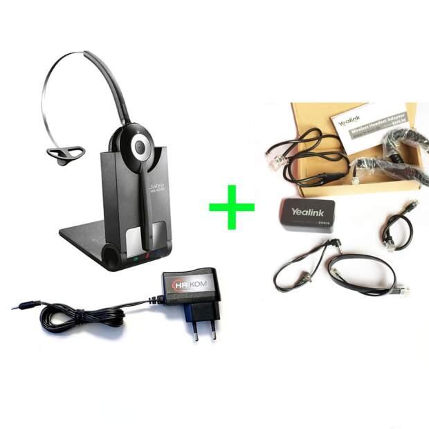 Jabra Pro 920 Mono inkl. Yealink EHS36 Headset Adapter