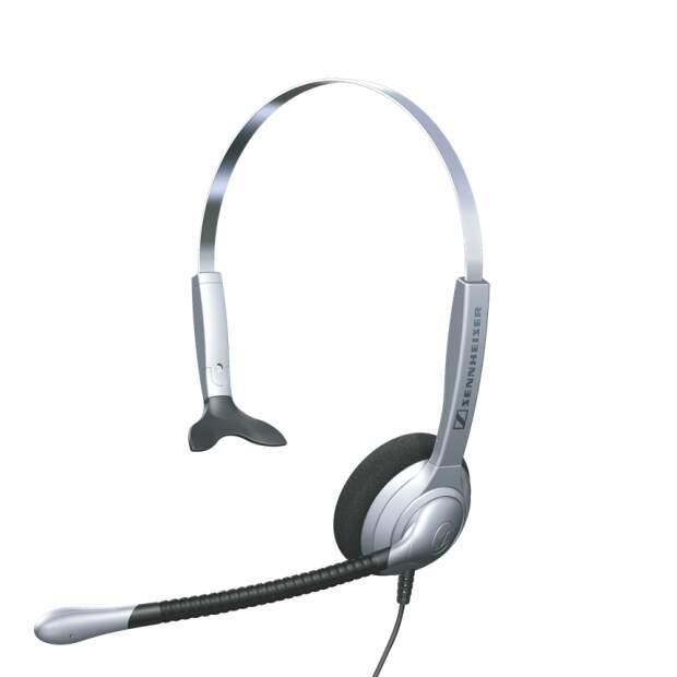 EPOS SH 330 einseitiges kabelgebundenes Kopfbuegel Headset ActiveGard Noise Cancelling Akustikschaumstoff Ohrpolster QD