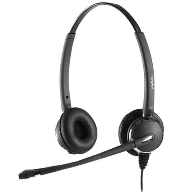 DH-031TFNB Duo Headset mit GN Jabra QD