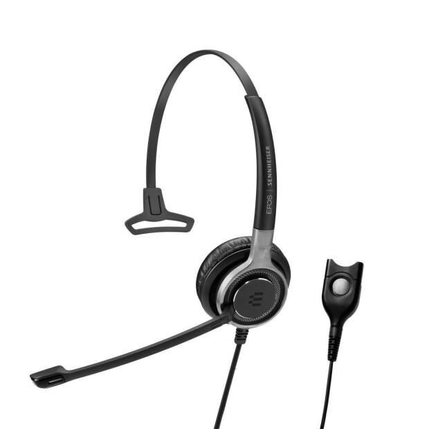 EPOS  IMPACT SC 632 einseitiges (mono) Premium-Headset niedrige Impedanz QD-Anschl. fuer Mobil- und DECT-Telefone
